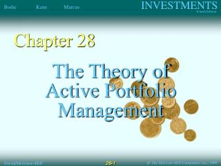 The Theory of Active Portfolio Management