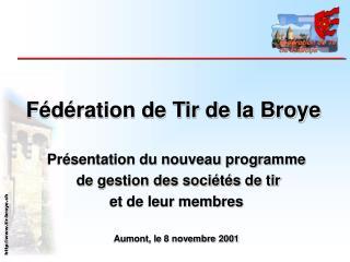 Fédération de Tir de la Broye