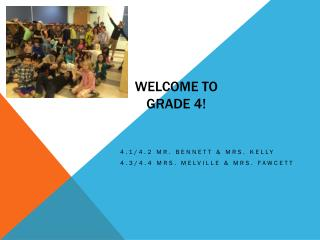 Welcome to Grade 4!