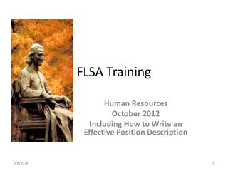 FLSA Training