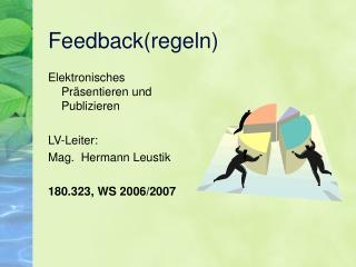 Feedback(regeln)