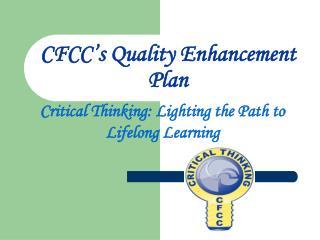 CFCC's Quality Enhancement Plan