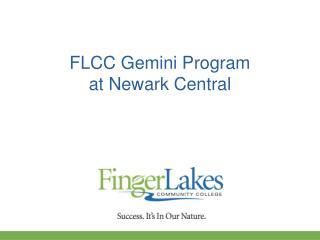 FLCC Gemini Program at Newark Central