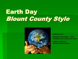 Earth Day Blount County Style