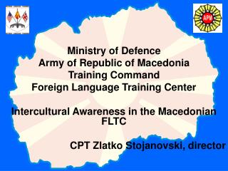 Ministry of Defence Army of Republic of Macedonia Training Command