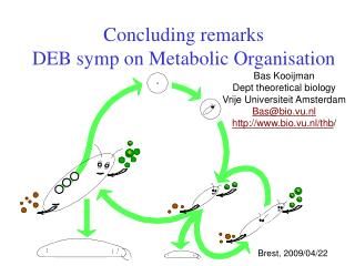 Concluding remarks DEB symp on Metabolic Organisation
