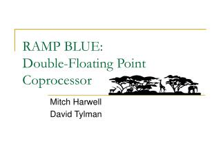 RAMP BLUE: Double-Floating Point Coprocessor