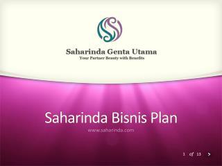 Saharinda Bisnis  Plan