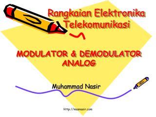 Rangkaian Elektronika Telekomunikasi