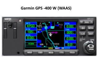 Garmin GPS -400 W (WAAS)