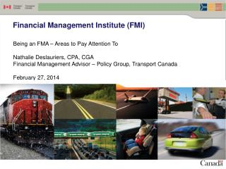 Financial Management Institute (FMI)