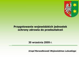 Urzad Marszalkowski Wojew dztwa Lubuskiego