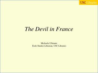 The Devil in France