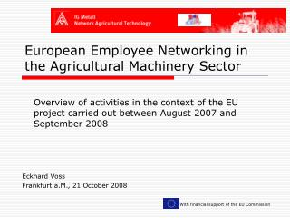 European Employee Networking in the Agricultural Machinery Sector