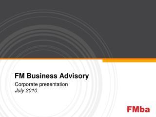 FM Business Advisory