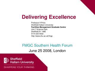Delivering Excellence