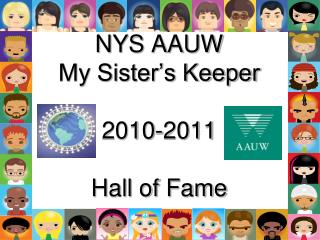 NYS AAUW My Sister's Keeper 2010-2011 Hall of Fame