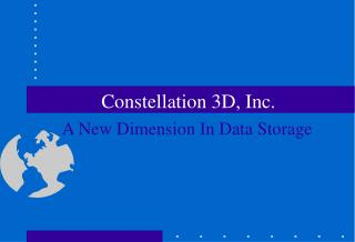 Constellation 3D, Inc.