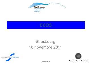 Strasbourg 10 novembre 2011