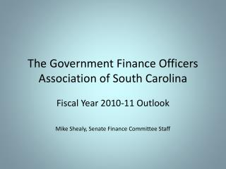 The Government Finance Officers Association of South Carolina