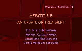 HEPATITIS B   AN  UPDATE ON TREATMENT