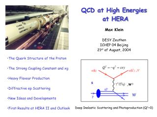 QCD at High Energies  at HERA