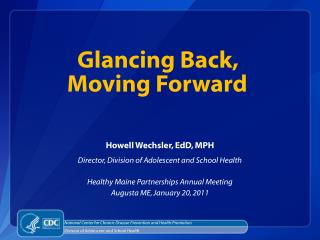 Glancing Back,  Moving Forward