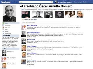 el arzobispo Óscar Arnulfo Romero