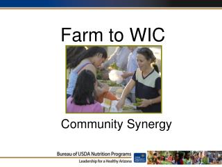 Farm to WIC