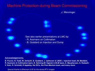 Machine Protection during Beam Commissioning
