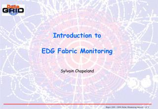 Introduction to EDG Fabric Monitoring