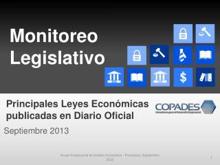 Monitoreo Legislativo