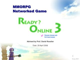 MMORPG Networked Game