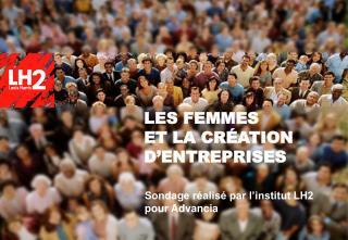 LES FEMMES ET LA CRÉATION D'ENTREPRISES