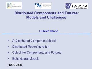 Distributed Components and Futures:  Models and Challenges
