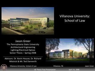 Villanova University: School of Law