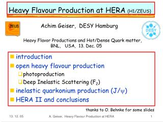 Heavy Flavour Production at HERA (H1/ZEUS)