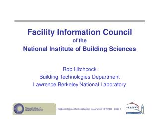 Facility Information Council