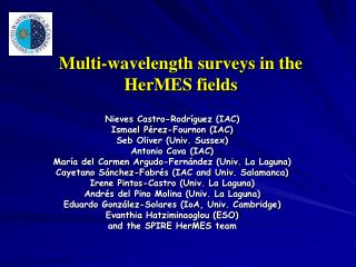 Multi-wavelength surveys in the HerMES fields
