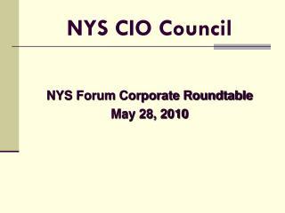 NYS CIO Council
