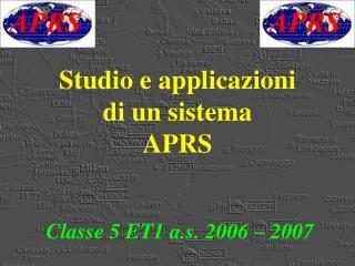 Studio e applicazioni di un sistema APRS