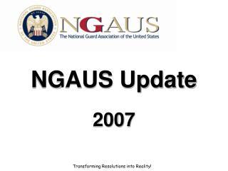 NGAUS Update 2007