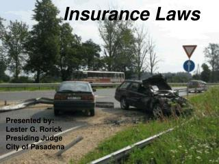 Insurance Laws