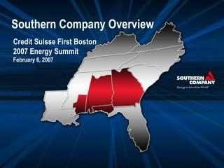 Southern Company Overview