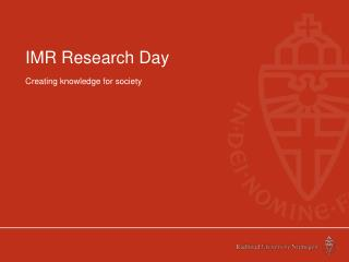 IMR Research Day