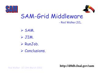 SAM-Grid Middleware