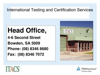 International Testing and Certification Services