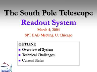 The South Pole Telescope Readout System