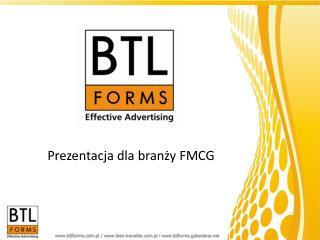 Prezentacja dla branży FMCG