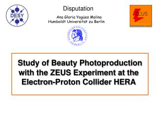 Study of Beauty Photoproduction with the ZEUS Experiment at the Electron-Proton Collider HERA